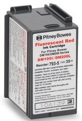Compatible Postage Meter Ink Cartridge for Pitney Bowes 793-5 P700, DM100, DM100i & DM200L Postage Meters (Pitney Bowes Pbi Ink Cartridge 793 5)
