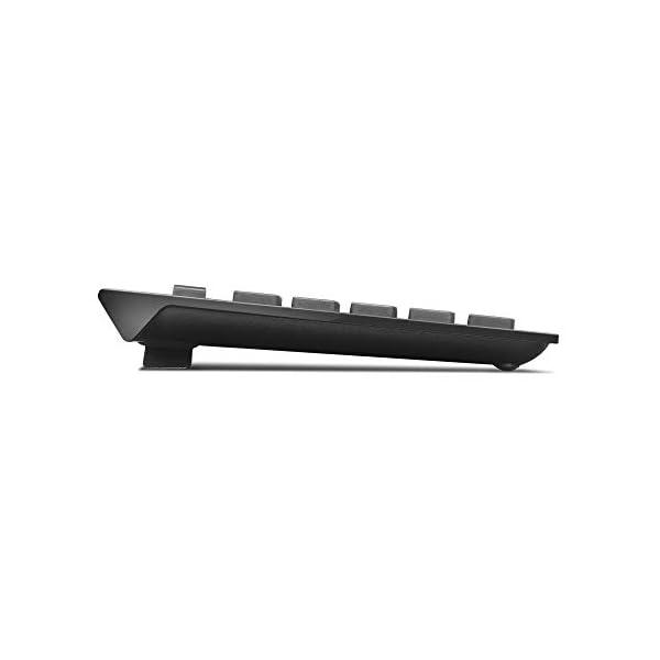 Lenovo 500 Wireless Combo Keyboard & Mouse, Full-Sized Keyboard, 1000 DPI Resolution Mouse, 2.4 GHz Wireless Connection…