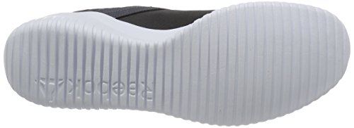 Reebok Stylescape Zapatillas de deporte, Hombre Gris / Verde / Blanco (Ash Grey/Bright Green/White)