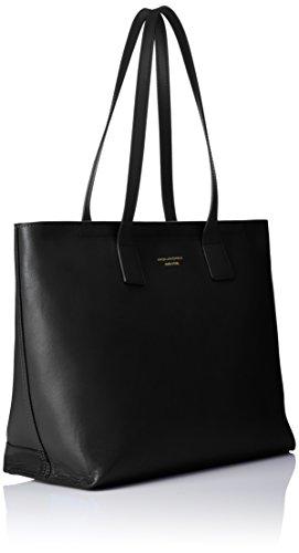 Antilias Pelle Bag a Piquadro 36 spalla Nero Borsa Collezione cm Shopping 01C1wqxnP