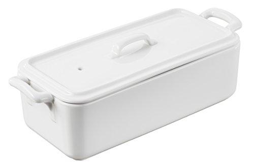 Revol 618410 BC081000 Terrine with lid, 35.25 Oz, White