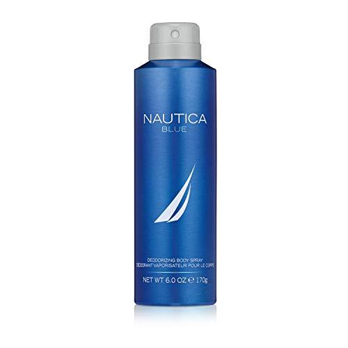 Nautica Blue Body Spray for Men, 6 Fluid Ounces (Nautica Blue Eau De Toilette Spray For Men)