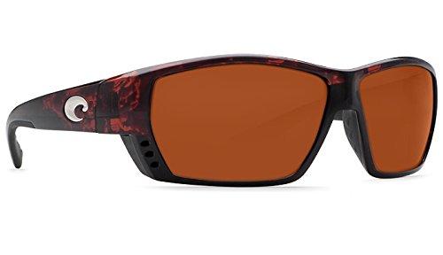 Costa Del Mar Tuna Alley C-Mate 2.50 Sunglasses, Tortoise, Copper 580P Lens