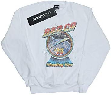 Absolute Cult Bad Company Herren Shooting Star Sweatshirt Weiß XX-Large