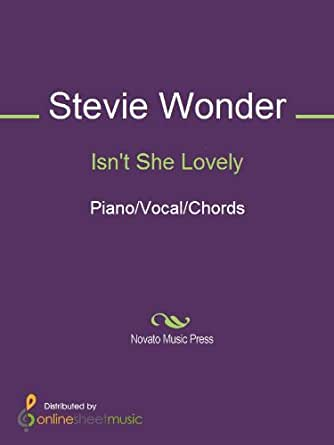 Isnt She Lovely Kindle Edition By Stevie Wonder Arts