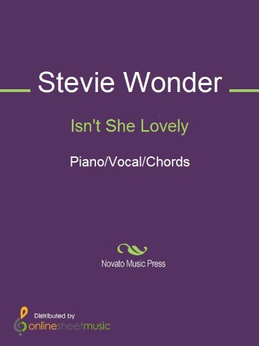 Isn\'t She Lovely - Kindle edition by Stevie Wonder. Arts ...