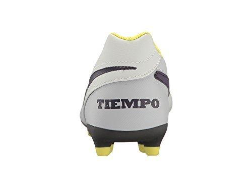 Nike Tiempo Rio III FG Pure Platinum/Purple Dynasty/Elect...
