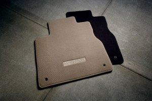 Genuine Nissan Accessories Custom Fit Carpeted Floor Mat - (Black)