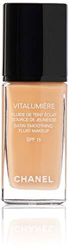 Chanel Vitalumiere Fluide Makeup SPF 15 No. 45 Rose for Women Makeup, 1 Ounce ()