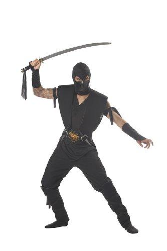 Mens Stealth Assassin Ninja Costume