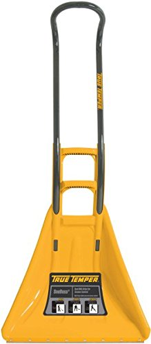 True Temper SnoBoss 26-Inch Ergonomic Poly Combo Snow Shovel- 1625300