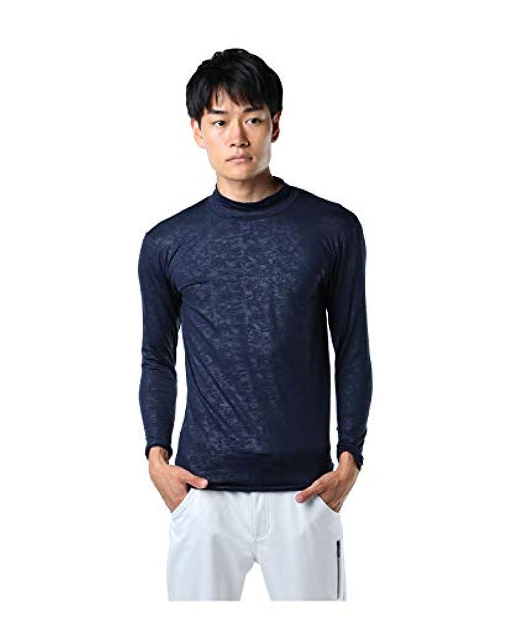 [해외] 투어 디 비젼 골프 언더 웨어 긴 소매 맨즈 엠보스 긴 소매HN언더 셔츠 TD220210H01 NV M
