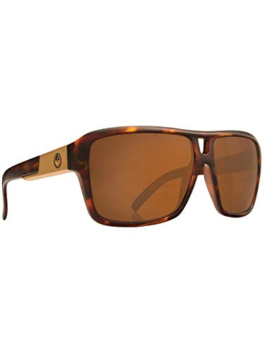 Dragon The Jam Polarized Large Fit Sunglasses, Matte Tortoise/Performance, One ()