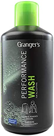 Granger's Performance Wash / 1 ltr / The Ultimate High Performance Cleaner for Outerwear / Made in Eng
