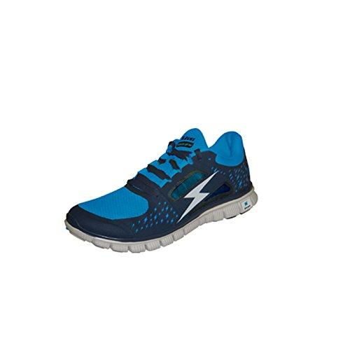 Marke Zeus–Typ Schuh Hermes–für Herren Sport/Spieler/Sportler–geeignet für die Halle–Ideal für Freizeit/Running/Sport/Home Shop Italien BLU-ROYAL