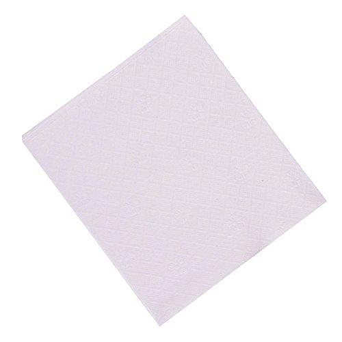 (Perfect Stix Lunch Napkin White -1000 Napkins, 1/4 Fold 1-Ply, 0.1