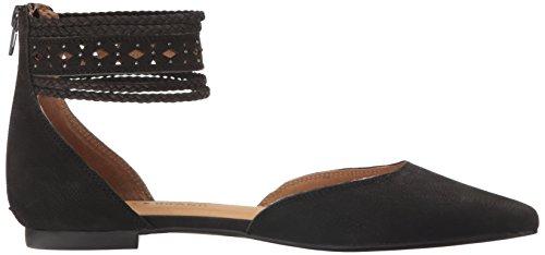 Women's Lucky Lk Ballet Madoz Sandshell Flat Brand Black gf6fq5