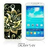 OnlineBestDigitalTM - Flower Pattern Hardback Case for Samsung Galaxy S4 IV I9500 / I9505 - Folk Khokhloma Flower by lolosakes