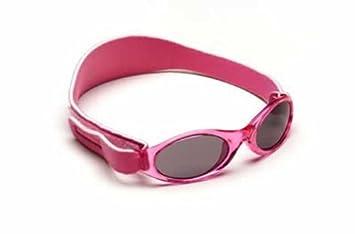 BabyBanz Kinder- und Babysonnenbrille pink, Größe 0-2 Jahre