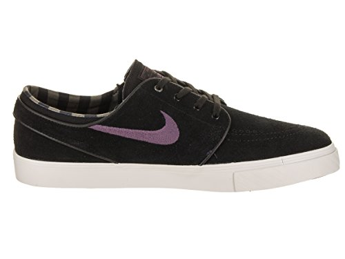 Nike Uomo Zoom Stefan Janoski Black / Pro Purple Ridgerock Skate Shoe 10.5 Men Us