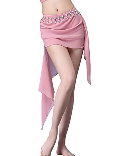 Dance Gonna Skirt Belly Pink Del Orientale Donna Ventre Yiijee Mini Danza q46FBB