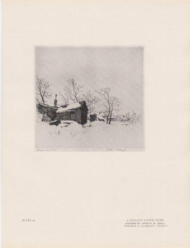Village Under Snow - 4