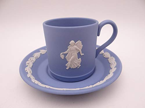 Vintage Wedgwood Jasperware Danbury Mint Cappuccino Espresso Demitasse Teacup and - Vintage Wedgwood