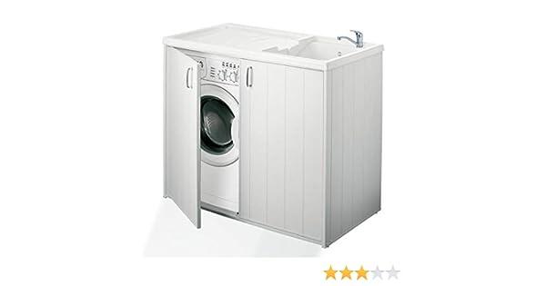 Mueble interior o exterior para proteger la lavadora: Amazon.es: Hogar