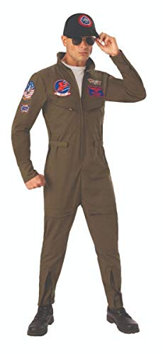 Top Men Halloween Costumes (Rubie's Costume Co Adult Deluxe Top Gun)