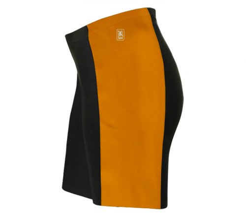 ScudoPro Orange Cycling Shorts for Men - Size XL