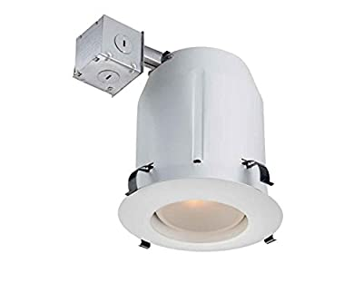 Commercial Electric 5 in. Recessed White Open Kit