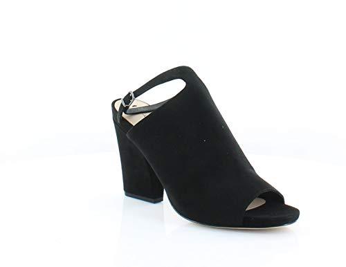- Via Spiga Women's Prim Block Heel Sandal, Black, 8 M US