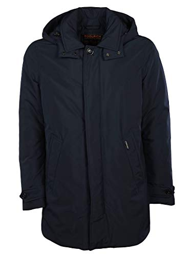 Poliestere Uomo Woolrich Outerwear Giacca Blu Wocps27023989 wSaT6qga