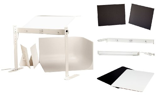 MyStudio MS20PRO Professional Tabletop Photo Studio Lightbox Kit with 5000K Lighting for Product Photography