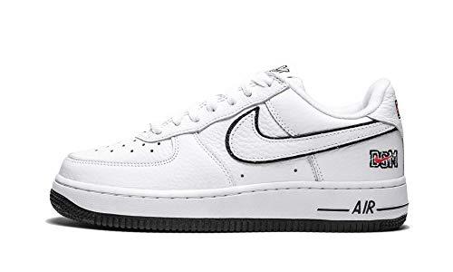 Nike Air Force 1 Low Retro DSM (White/White-White, 15) ()