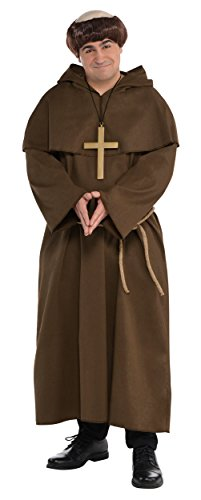 Friar Adult Costume - Plus