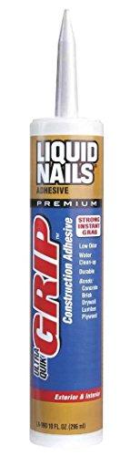 Instant Grab Construction Adhesive - Liquid Nails LN990 Ultra Quick Grip Liquid Nails Construction Adhesive