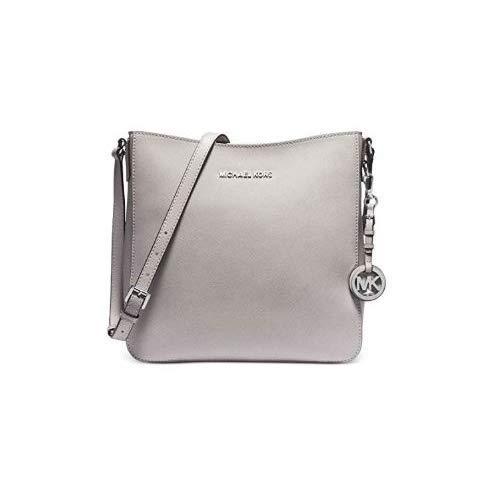 Michael Kors grey crossbody bag | MICHAEL Michael Kors Jet Set Travel Lg Messenger Pearl Grey One Size