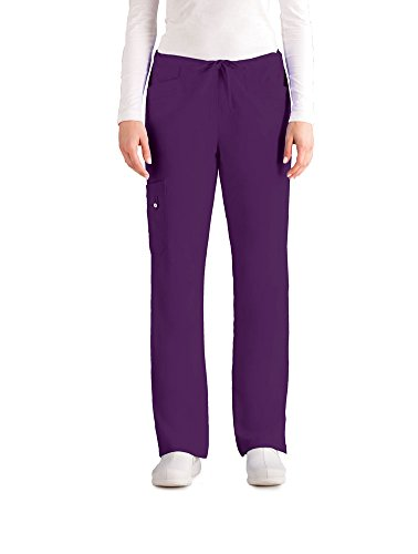 - Signature by Grey's AnatomyTM Women's Cargo Scrub Pant XXX-Large Dewberry