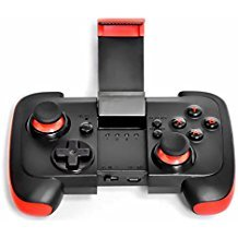 Wireless Gamepad, Prolife Vibration Wireless Game Controller with Clip for Android/IOS Smart Phones/Tablet/PC/PS3/Gear VR