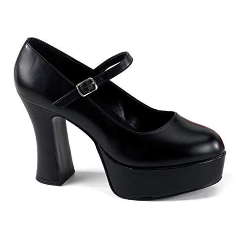 Mary Jane Costume Shoes (Funtasma by Pleaser Women's Platform Mary Jane,Black,10)