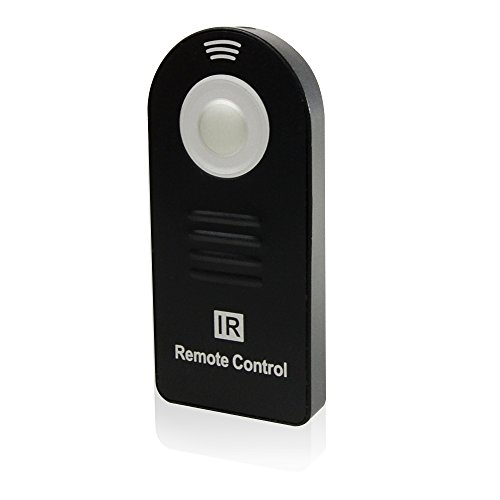 Pentax Wireless Remote - Foto&Tech IR Wireless Shutter Release Remote Control Compatible with PENTAX Q, PENTAX DSLR 645Z, 645D,K-5 II,K-5 II s,K-1,K-3 II,K-3,K-50,K-30,K-S2,K-S1,Q-S1,K-500,X-5,K-m,K-5,K-7 with Velvet Bag