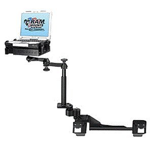 No-Drill(TM) Laptop Mount for the Chevrolet Impala Police Package