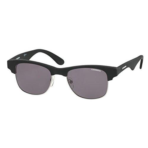 Carrera sunglasses 6009 DEBY1 Plastic Matt Black - Silver - 6009 Sunglasses