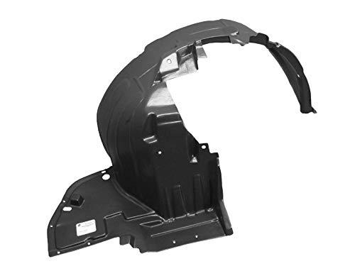Parts N Go 2012-2014 Nissan Versa Fender Liner Passenger Side Right Hand Splash Shield Sedan - NI1249128, 638423BA0A ()
