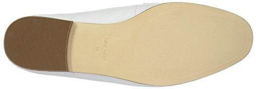 Flat Nine White West Loafer Leather Winjum Women's TSxTvq