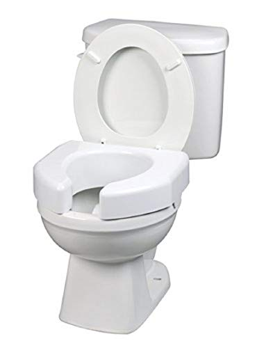 (Maddak Basic Open Front Elevated Toilet Seat (725790000) )