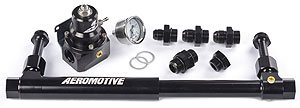Aeromotive 17248 Adjustable Fuel Log with (13212) 2-Port Regulator