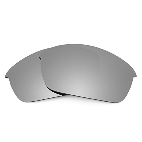 Revant Polarized Replacement Lenses for Oakley Flak Jacket Titanium - Jacket Flak
