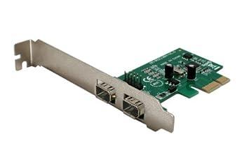 SYBA PCI-Express de 2 puertos IEEE 1394a Tarjeta Firewire ...